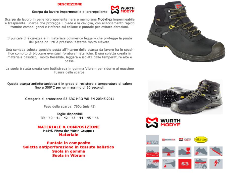 SCARPA CALZATURE LAVORO ANTINFORTUNISTICA GRISPORT 74049 +